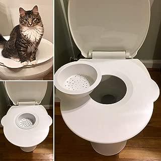 Kitty's Loo - The Best Cat Toilet Seat - Cat Toilet Training Kit