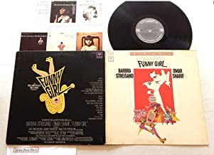 Barbra Streisand Funny Girl The Original Sound Track Recording - Columbia Masterworks 1968 - A Used Vinyl LP Record - 1968 Pressing 360 Sound Labels - People - My Man - The Swan