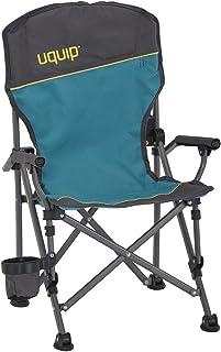Uquip Kirby - Silla de camping infantil, antiaplastamiento, portavasos - solo 2 kg - capacidad de carga 60 kg