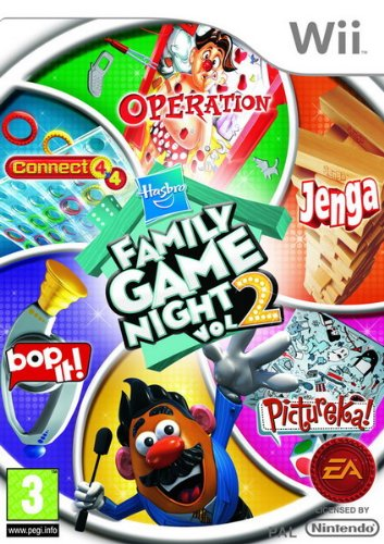 Hasbro Family Game Night: Volume 2 (Wii) [Edizione: Regno Unito]