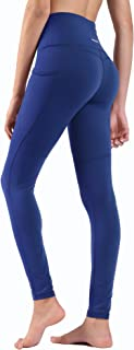 Ogeenier Power Flex Yoga Pants Workout Running Pants with Pocket