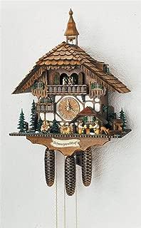 8días selva negra House reloj de cuco W dos melodías