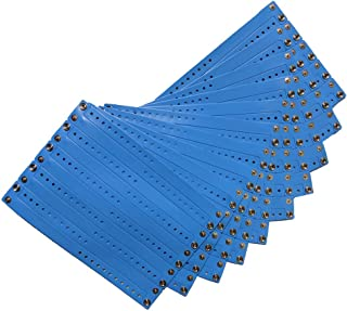 Reusable Vinyl Wristbands (Blue, 100/pk)