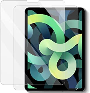 【2枚セット】iPad Air 4 日本旭硝子製/硬度9H/高透過率/飛散防止/気泡防止/指紋防止/3Dタッチ iPad 10.9 対応 強化ガラス 液晶保護フィルム 10.9インチiPad)