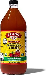 Bragg オーガニック アップルサイダービネガー ハニーカイエン りんご酢飲料 946ml 日本正規品