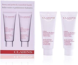 Clarins Set-Hand and Nail Treatment Cream Duo,