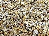 Natur Quarz Kies Zierkies Bodengrund Garten Teich Aquarium Kiesel Stein 5 25 kg (25 Kg)