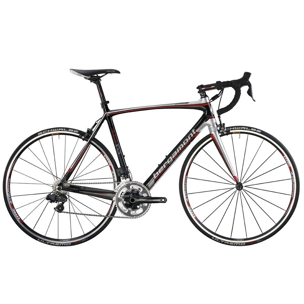 Bergamont unisex de carretera Dolce 10.3 Carbon/plata/rojo ...