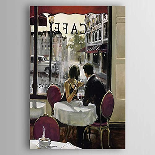 Envío rápido y el mejor servicio LDKAI Pintura al al al óleo Pintado a Mano-Gente del Arte Reproducción en Lienzo contemporáneo Estilo Abstract  toma