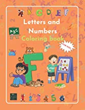 Letters and Numbers Coloring book: |learn to read and count by coloring| by Raz McOvoo (Coloring Books)