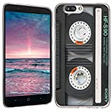 ZTE Blade Z Max case - [Cassette Tape] (Clear) PaletteShield Soft...
