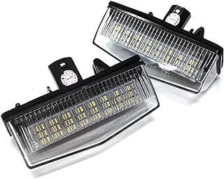 YAOFAO LED ライセンスランプ プリウス 20系 30系 40系 NHW20 ZVW30 PHV ZVW35 プリウスα ZVW4# レクサス CT200H ZWA10 ナンバー灯 2個 セット など