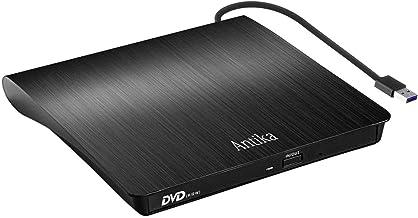 Externer DVD-/CD-Brenner mit externem CD-Laufwerk USB 3.0 DVD +/- RW CD +/- RW tragbares..