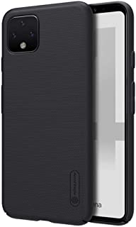 Nillkin GPXL4-NL-SF-B Google Pixel 4 XL Super Frosted Hard Phone Case With Stand - Black