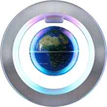Magnetic Levitation Floating Globe - 4 inches Levitating O Shape Globe for Children Educational Gift Home Office Desk Decoration