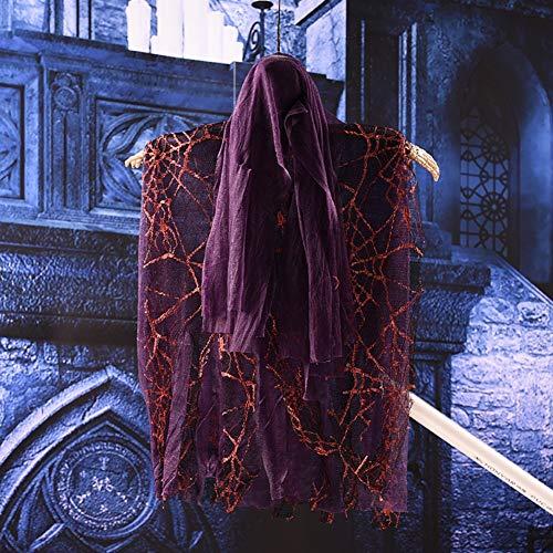 WZJDY Hanging Ghost Halloween-Deko Für Innen- Und Außendeko Sowie Halloween-Mottopartys,B