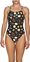Arena Women's Tropical Storm Challenge Back Reversible One Piece Swimsuit