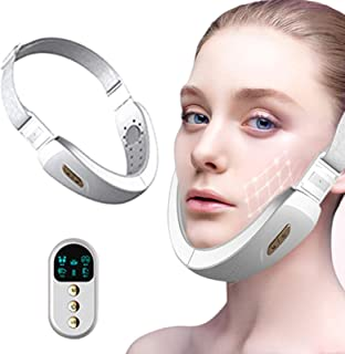 Vibration massage jawline Shaper Smart Remote Control Bluetooth Face Chin Slimming Device