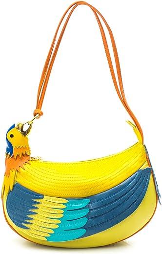 Borsa braccialini donna temi 104 - pappagallo pelle