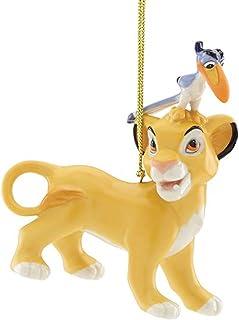 Lenox Disney The Lion King Ornament Figurine Simba Zazu Cub Hornbill Bird Christmas