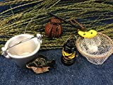 Miniature Fishing Accessories Craft Party Supplies