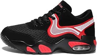 Mixte Adulte Chaussure de Basket-Ball de Sport Outdoor pour Multisport Femme Homme Chaussure Basket Mode Casual de Coussin Bulle Antichoc Antid/érapant 35-44