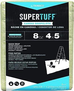 nuLOOM 58905 SuperTuff Area Rug, 4-feet x 5-feet, Beige