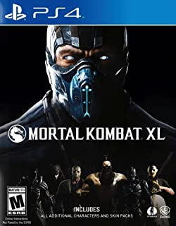 WB Games Mortal Kombat XL (PS4) Playstation 4 The Ultimate Experience (Brand New Factory Sealed)