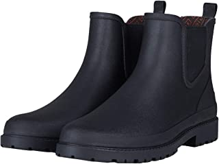 Men's Chelsea Rain Boots Waterproof Slip on Shoes Nonslip Short Ankel Boots Rubber Rain Footwear Handmade