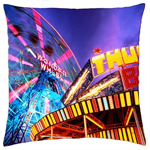 new york fair play coney island - Throw Pillow Cover Case (18