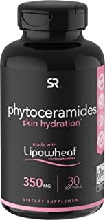 Phytoceramides 350mg Made with Clinically Proven Lipowheat® | Plant Derived and GMO Free with No Fillers or Synthetic Vita...