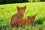 Beetstecker *Katze* Dekofigur Tierfigur Deko - H30cm