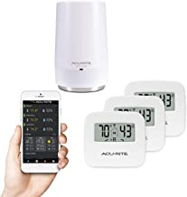 AcuRite 01152M 3-Sensor Indoor Temperature and Humidity Smart Home Environment System with My AcuRite