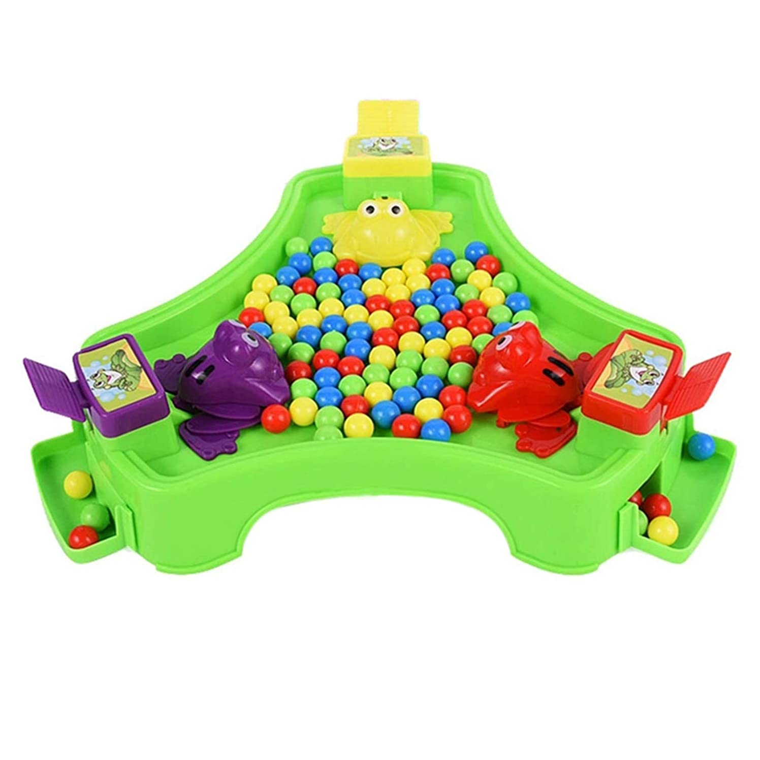 SODIAL Feeding Frog Family Party Game Popular Toys for Children Parent-Child Interaction Funny Toys Novelty Gag Gifts for Kids,B