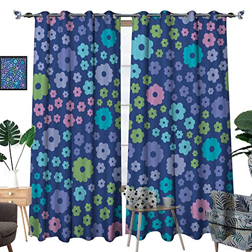 Why Should You Buy hobeauty home Custom Made Curtain,Floral Seamless Background,for Bedroom, Kitch...