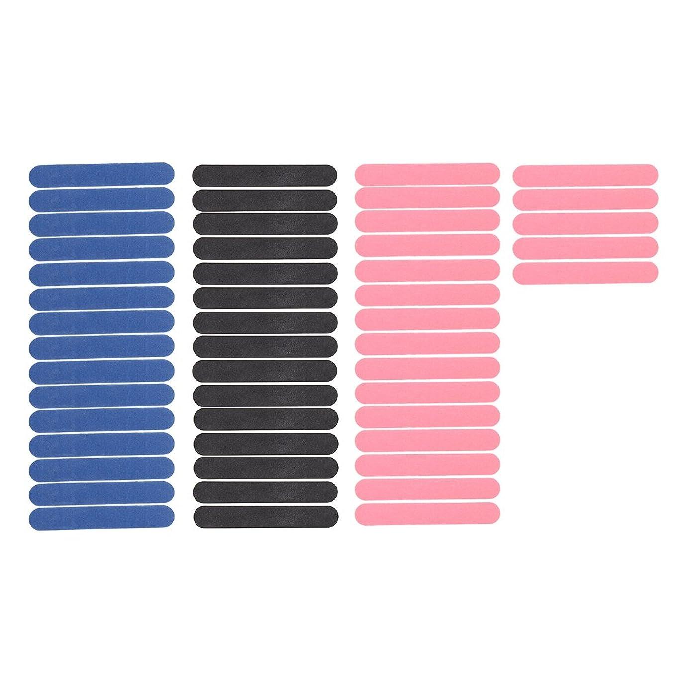Perfeclan バッファーグリット サンディング ミニ ネイルファイル マニキュアツールキット 両面 50個セット