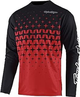 Troy Lee Designs Sprint Jersey - Men's Megaburst Red/Black, L