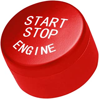 starnearby Start Stop Engine Push Button Switch Cover for F01 F02 F10 F11 Red