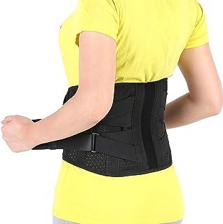 Fajas en equipamiento médico, Cinturón Lumbar Médico Ortopédico para Prevenir Lesiones al hacer Deporte Aliviar el Dolor de la Ciática, Estenosis Espinal, Soporte Mejora la Postura de la Espalda(M)