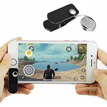 KSLLOX Mobile Game Joystick Funny Game Controller for iPhone Android Sensitive Joysticks for PUBG, Black Clip Control Touch Screen Pad Moving: Amazon.es: Juguetes y juegos