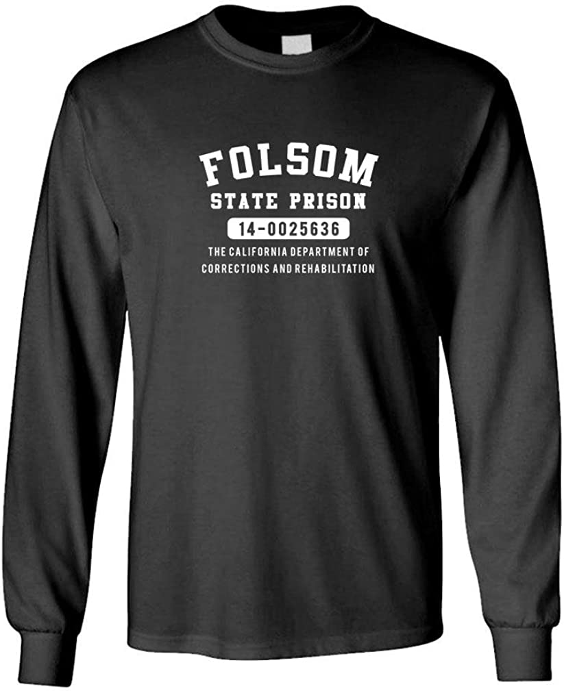 Guacamole Folsom State Prison Blues - Outlaw Music - Long Sleeved Tee