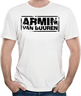 Men Armin Van Buuren Tops Shirt Comfortable Cotton Hip-hop Youth Boys T Shirts