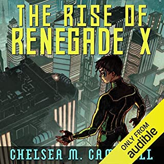 The Rise of Renegade X audiobook cover art