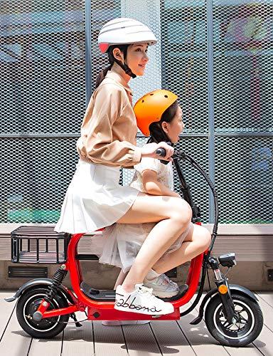 YF-Mirror Scooter de Movilidad de 3 Ruedas Silla de Ruedas móvil de energía eléctrica para Adultos Mayores - Scooter de Viaje Plegable y Compacto