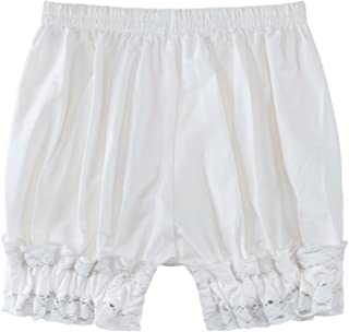 Women's Cotton Lace Hem Bloomers Lolita Shorts