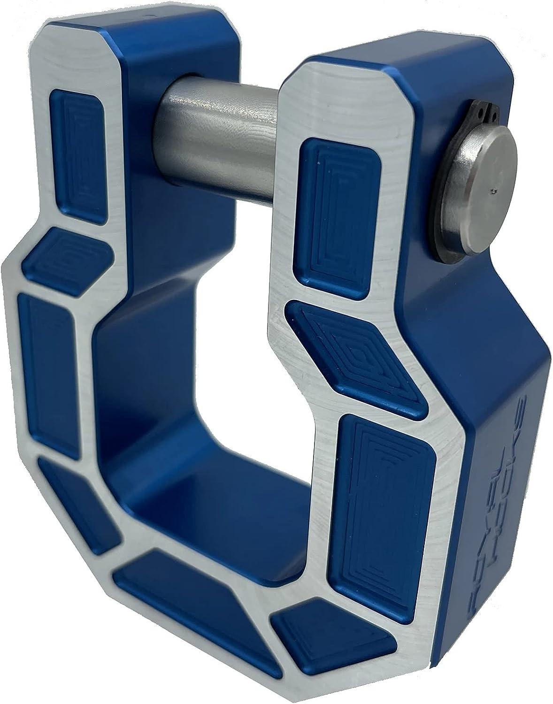 Royal Show Shackle - PAIR - D Ring Hook - Aluminum (Royal Hooks)