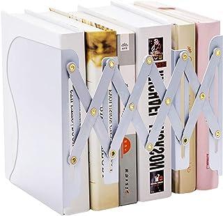MDHAND Serre-Livres réglable pour Livres Lourds, Porte-Documents pour Bureau, étagère, Bureau, Papeterie, Extensible jusq...