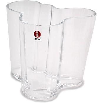 (イッタラ)IITTALA アルヴァ・アアルト フラワーベース 95mm 花瓶 02.クリア [並行輸入品]