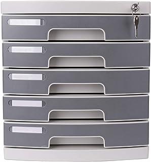 5ème étage Cabinet de sécurité en plastique Armoire de stockage de documents Boîte de rangement Armoire de bureau 12-30