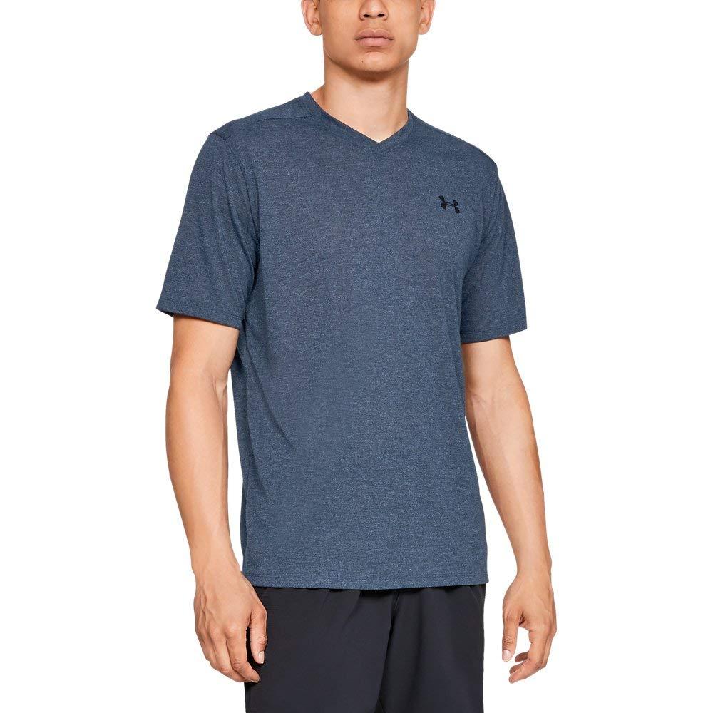 Under Armour Mens Siro Short Sleeve V-Neck Shirt